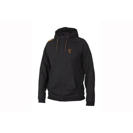 Bluza Fox Collection Orange & Black Lightweight Hoodie M