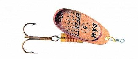 Błystka Obrotówka DAM EFFZET SPINNER Copper 5 / 12g