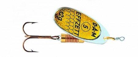 Błystka Obrotówka DAM EFFZETT STANDARD SPINNER Reflex Gold 5 / 12g