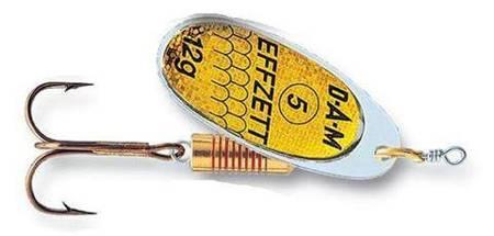 Błystka Obrotówka EFFZETT DAM Standard SPINNER Reflex Gold 6 / 20g