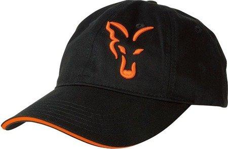 Czapka z daszkiem Fox Black & Orange Baseball Cap