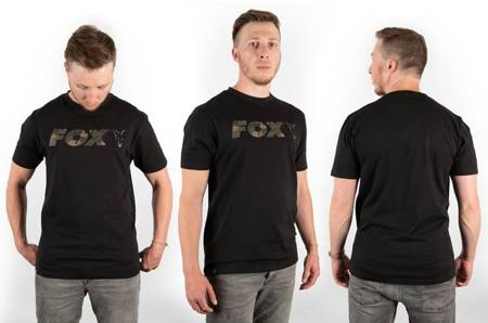 Koszulka Fox Chest Print Camo / Black T-Shirt XXL