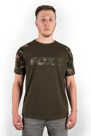 Koszulka Fox Chest Print Camo / Khaki T-Shirt L