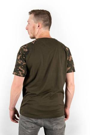 Koszulka Fox Chest Print Camo / Khaki T-Shirt M