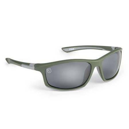 Okulary przeciwsłoneczne FOX Green & Silver Sunglasses