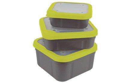 Pudełko Matrix BAIT BOXES GREY/LIME 1,25L