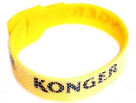 Rzep do wędek średni KONGER żółty 23,5 cm nr 5