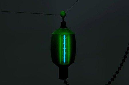 Sygnalizator brań Fox Black Label Dumpy Bobbins - Green