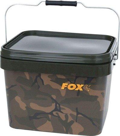 Wiadro Fox Camo Square Buckets 10l
