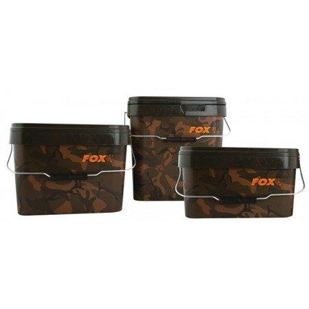 Wiadro Fox Camo Square Buckets 17l