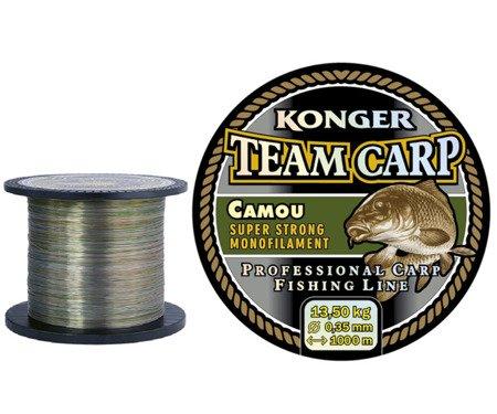 Żyłka Konger Team Carp Camou 0,25 / 1000